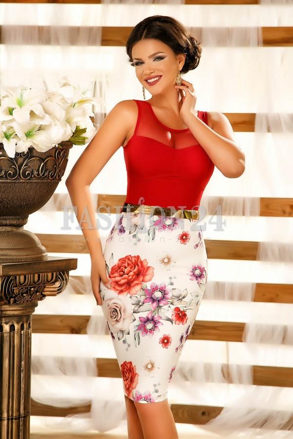 Rochie Faylinn Red