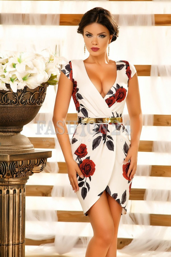 Rochie Famous Style White