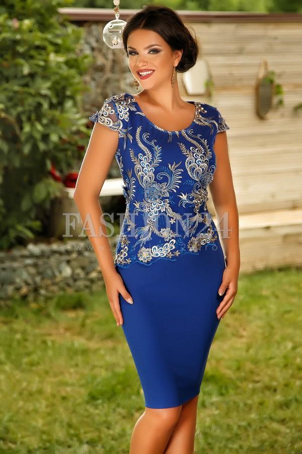 Rochie Blue Secret