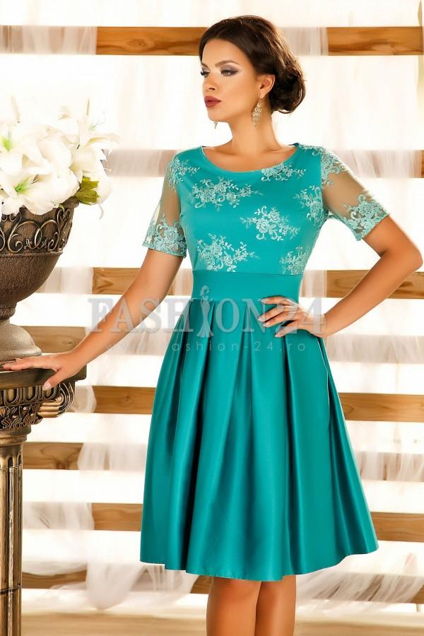 Rochie Glennis Turquoise