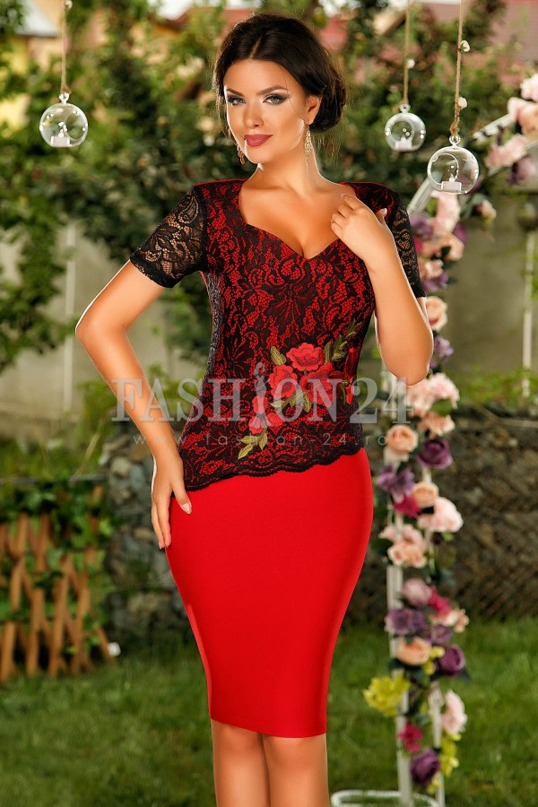 Rochie Red Freedom
