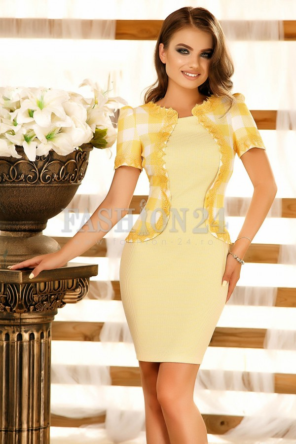 Rochie Yellow Scent