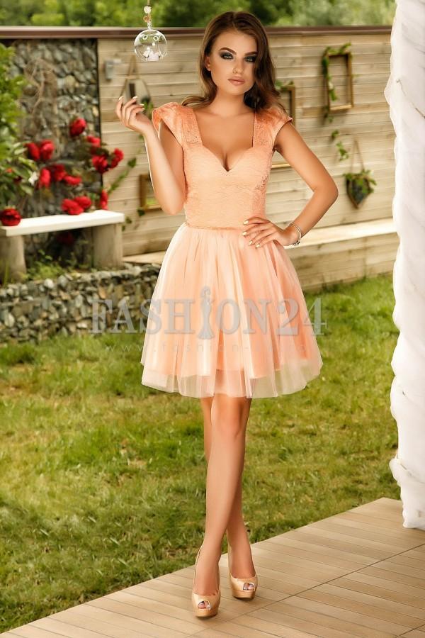 Rochie Peach Fantasy