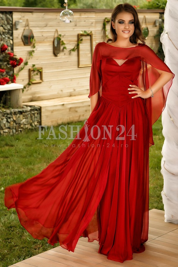 Rochie Lunga Red Irresistible