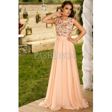 Rochie Lunga Pink Elements