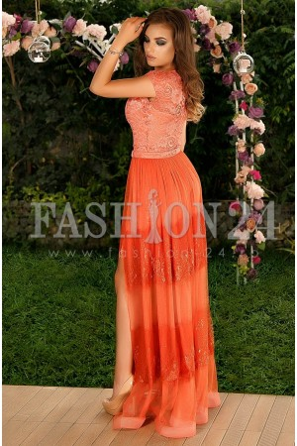 Rochie Lunga Orange Dally