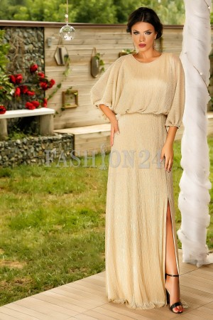 Rochie Lunga Gold Edition