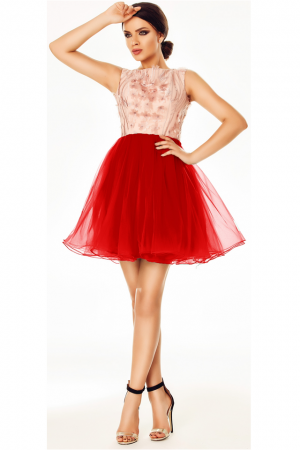 Rochie Selena Red