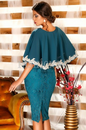 Rochie Turquoise Sleeves