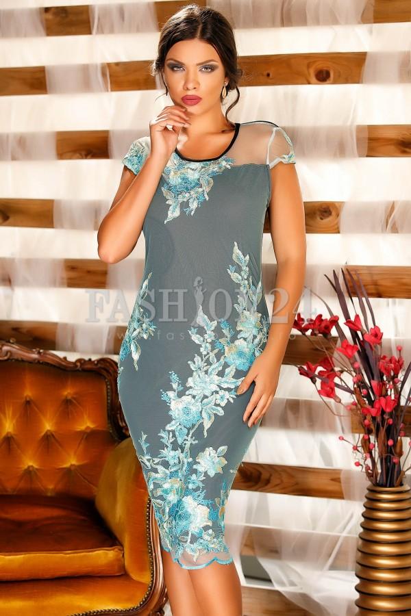 Rochie Blue Gleam New