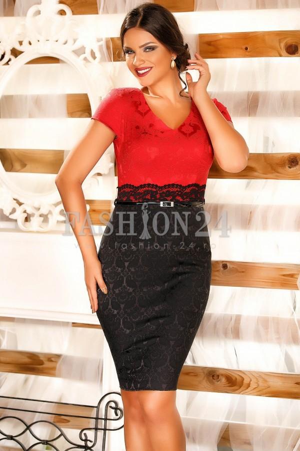 Rochie Darcie Red