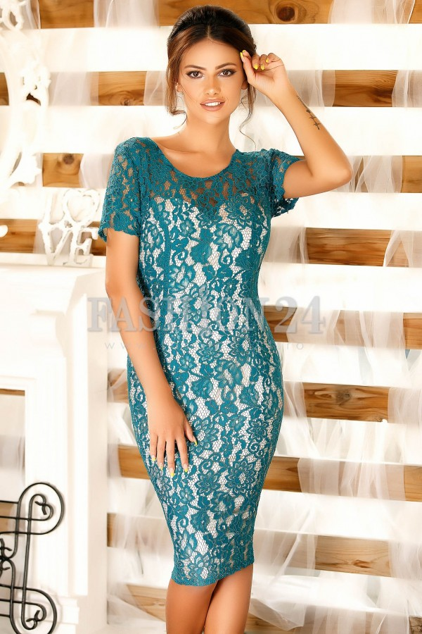 Rochie Emerald Turquoise