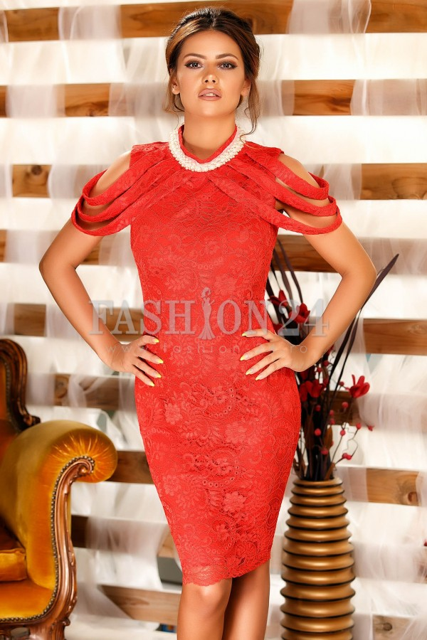 Rochie Clare Red