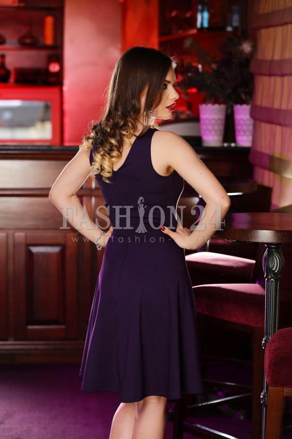 Rochie Purple Inserts