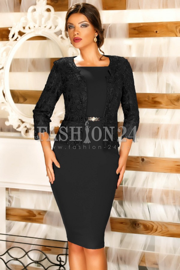 Rochie Courtney Black
