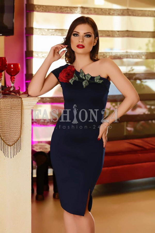 Rochie Dark Blue Couple