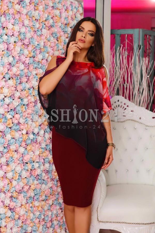 Rochie Burgundy Passion