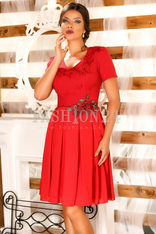 Rochie Betsy Red