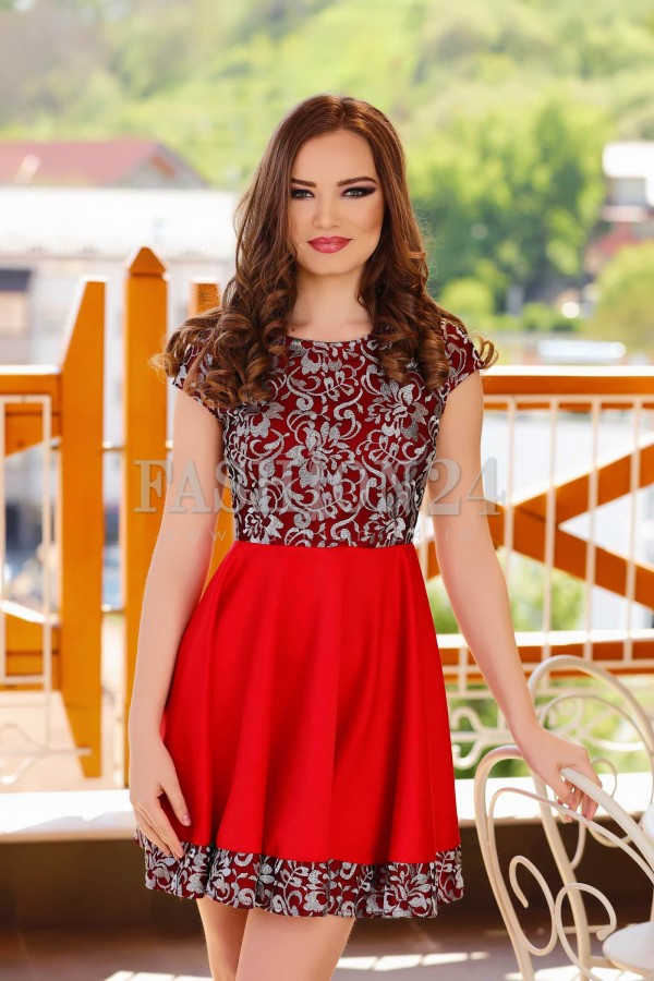 Rochie Forever Red