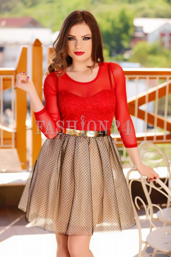 Rochie Baby Doll Red Passion