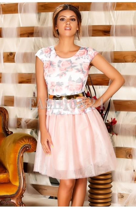 Rochie Lane Pale Pink