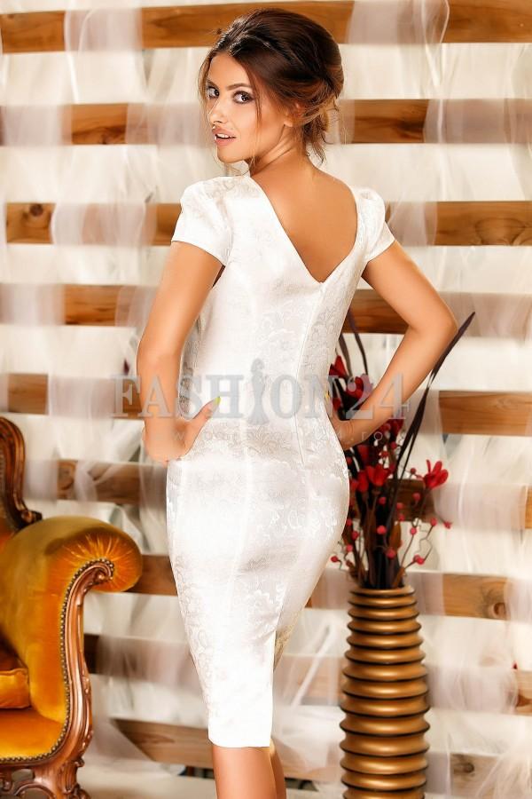 Rochie Olivia White