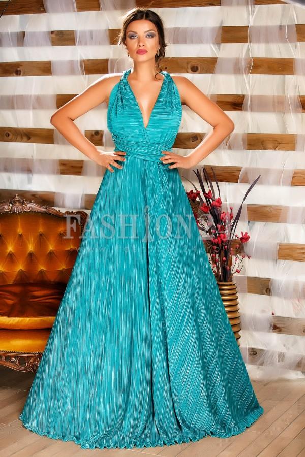 Imagine produs Rochie Special Versatile Turquoise