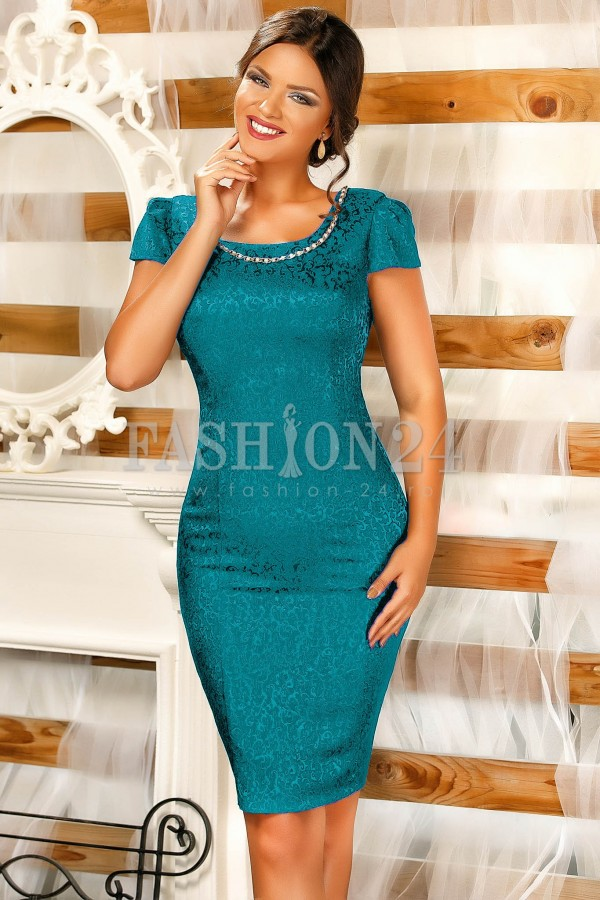 Rochie Lindsay Turquoise
