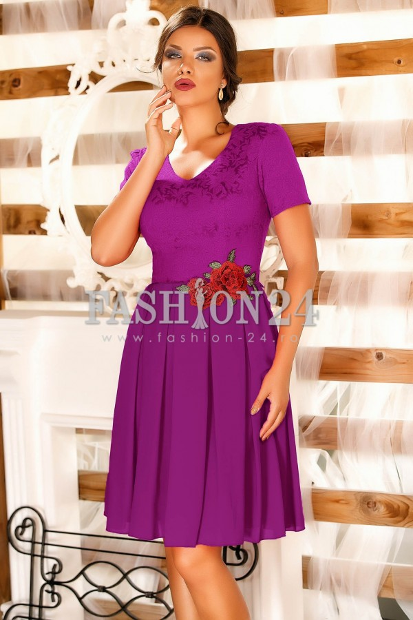 Rochie Betsy Purple