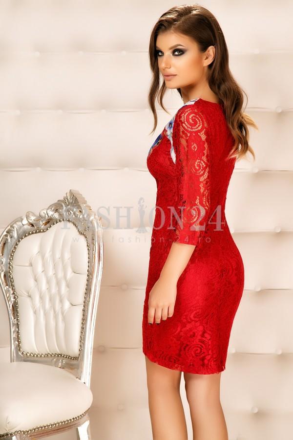Rochie Maya Red
