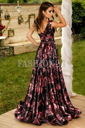 Rochie Lunga Special Night Red