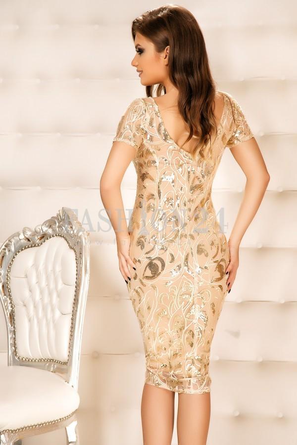 Rochie Alicia Gold