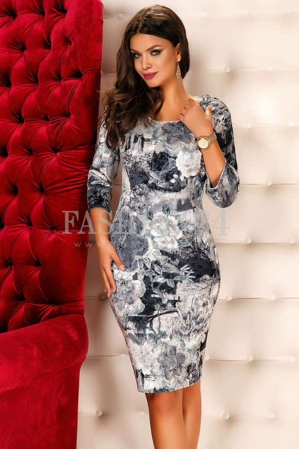 Rochie Evelyn Gray
