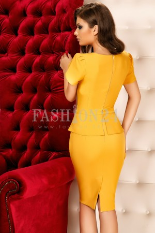 Rochie Alma Yellow