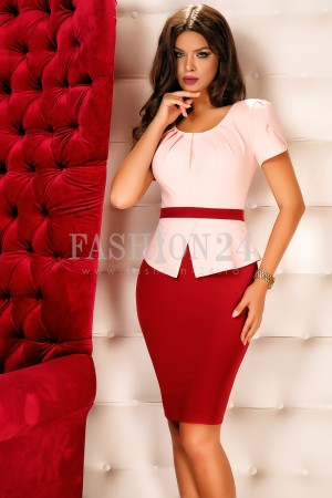 Rochie Alma Red