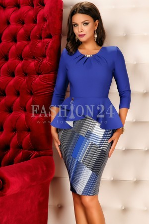 Rochie Holly Blue