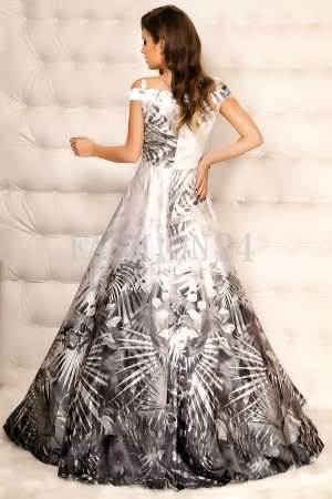 Rochie Lunga Special Gray