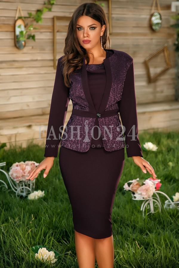 Imagine produs Compleu Elegant Annis Purple