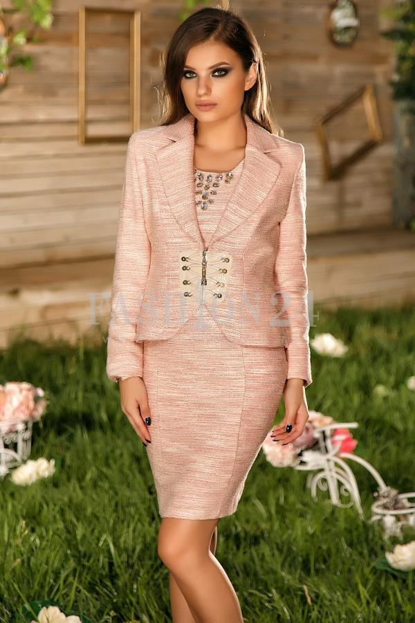 Rochie Annelisse Pink
