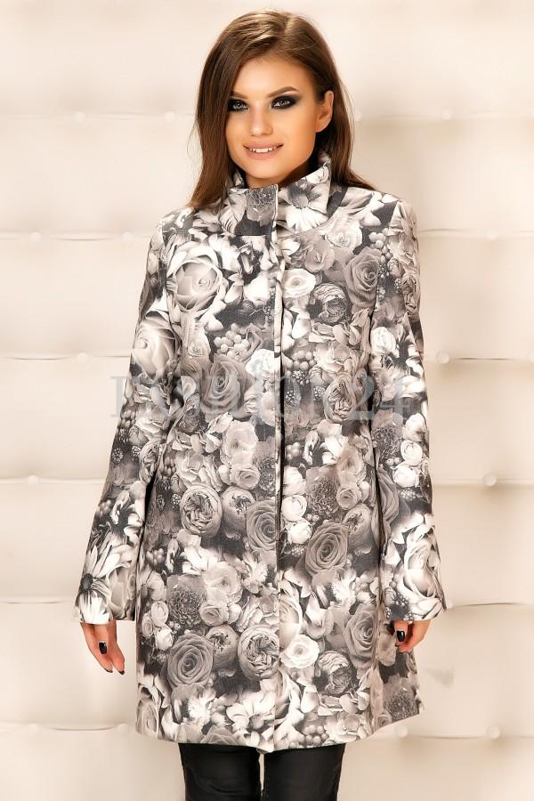 Palton Cu Imprimeuri Iasmina