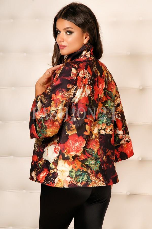 Palton Cu Imprimeuri Ilona