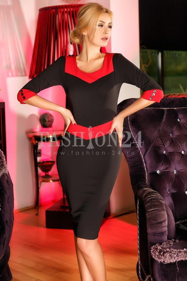 Rochie Aida Red