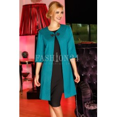 Rochie Black&Turquoise Cardigan thumbnail