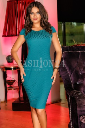 Rochie Turquoise Cardigan