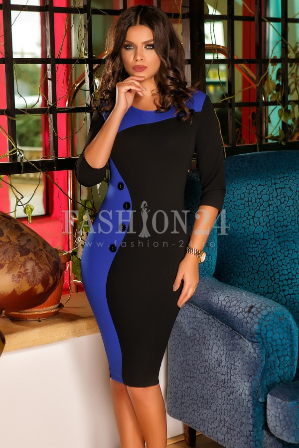 Rochie Eliada Blue