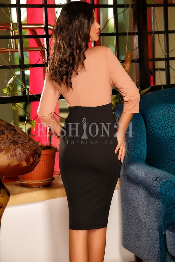 Rochie Yasmin Orange