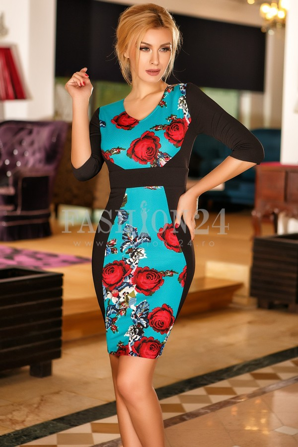 Rochie Eveline Roses