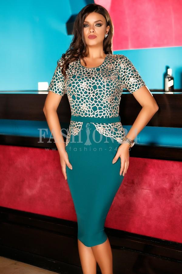 Rochie Isabel Green