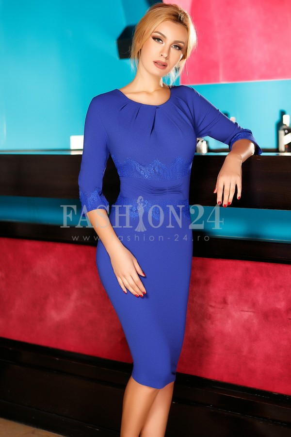 Rochie Adelina Blue