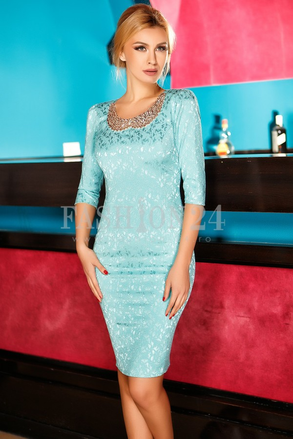 Rochie Nancy Turquoise